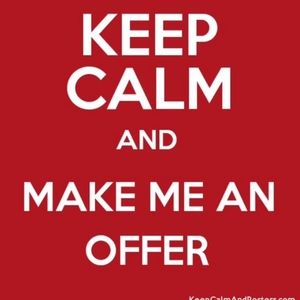 Other - MAKE ME THE OFFER YOU WANT!